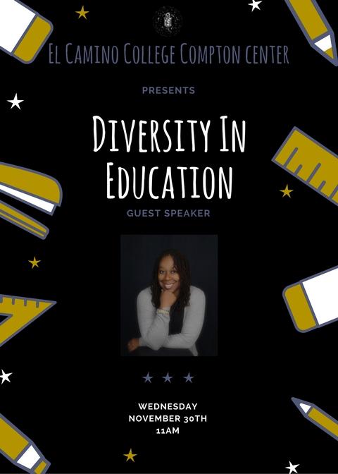 Nailah Harvey speaking at Compton College_NHARV