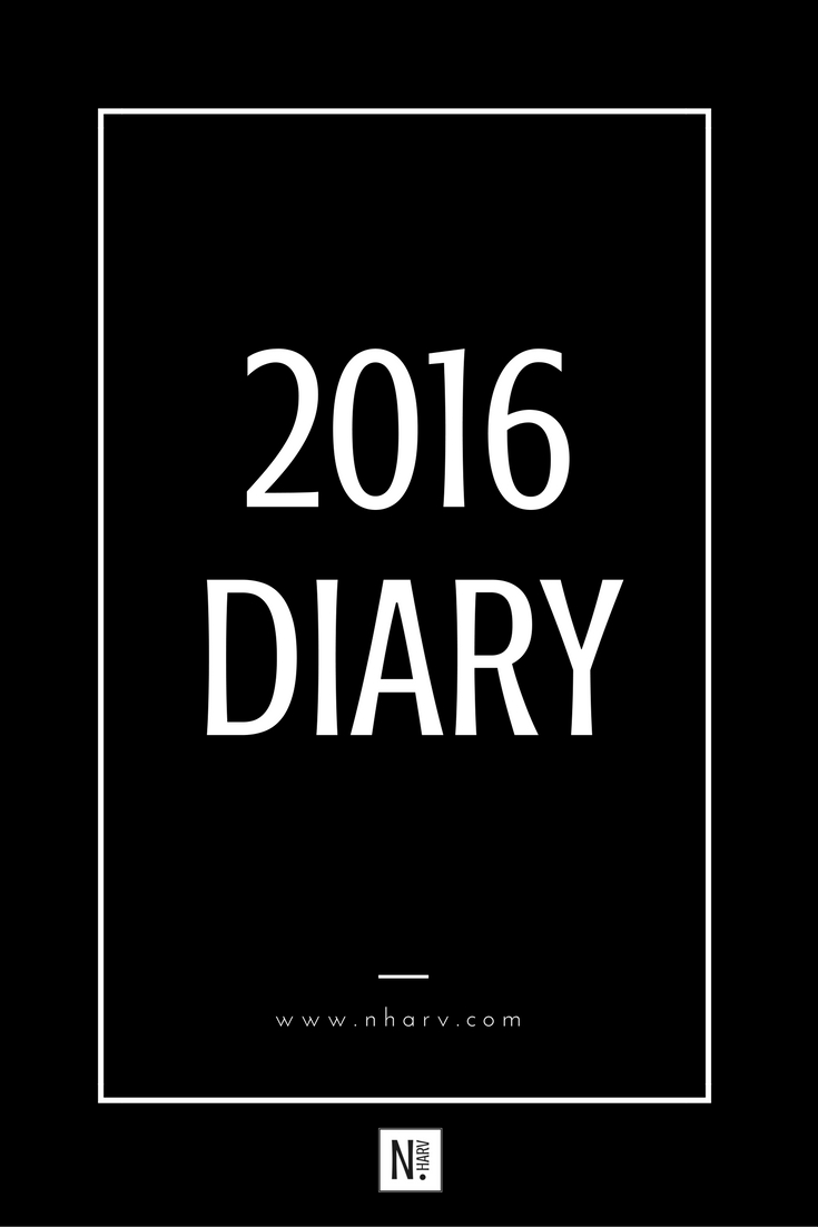 The 2016 diary of Nailah Harvey