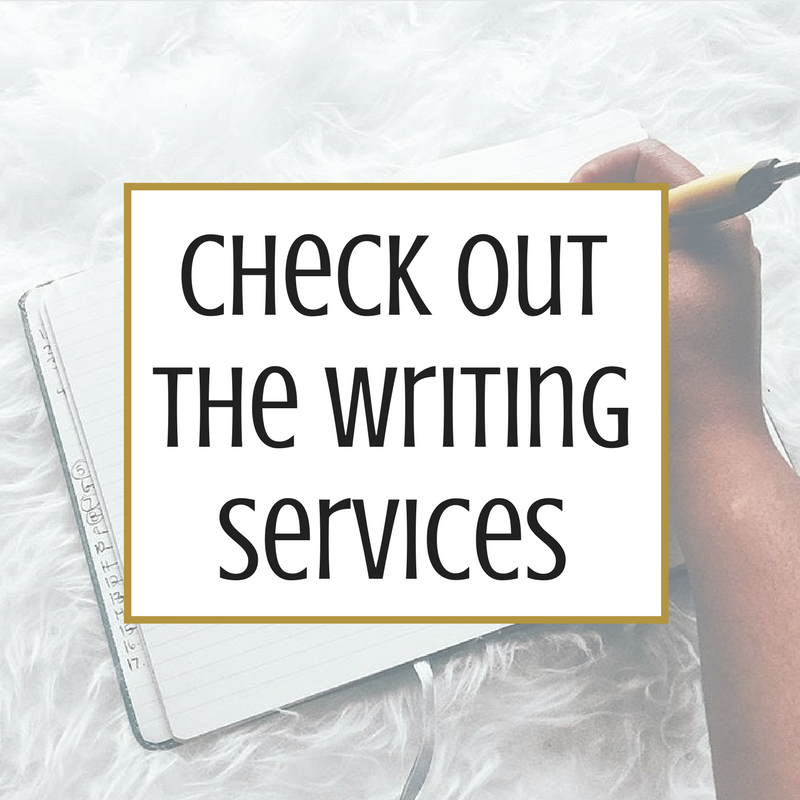 Writing Services by Nailah Harvey