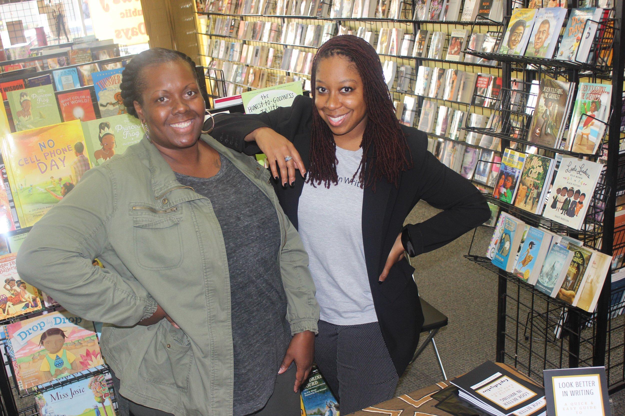 Nailah Harvey Book Signing with Ericka.JPG
