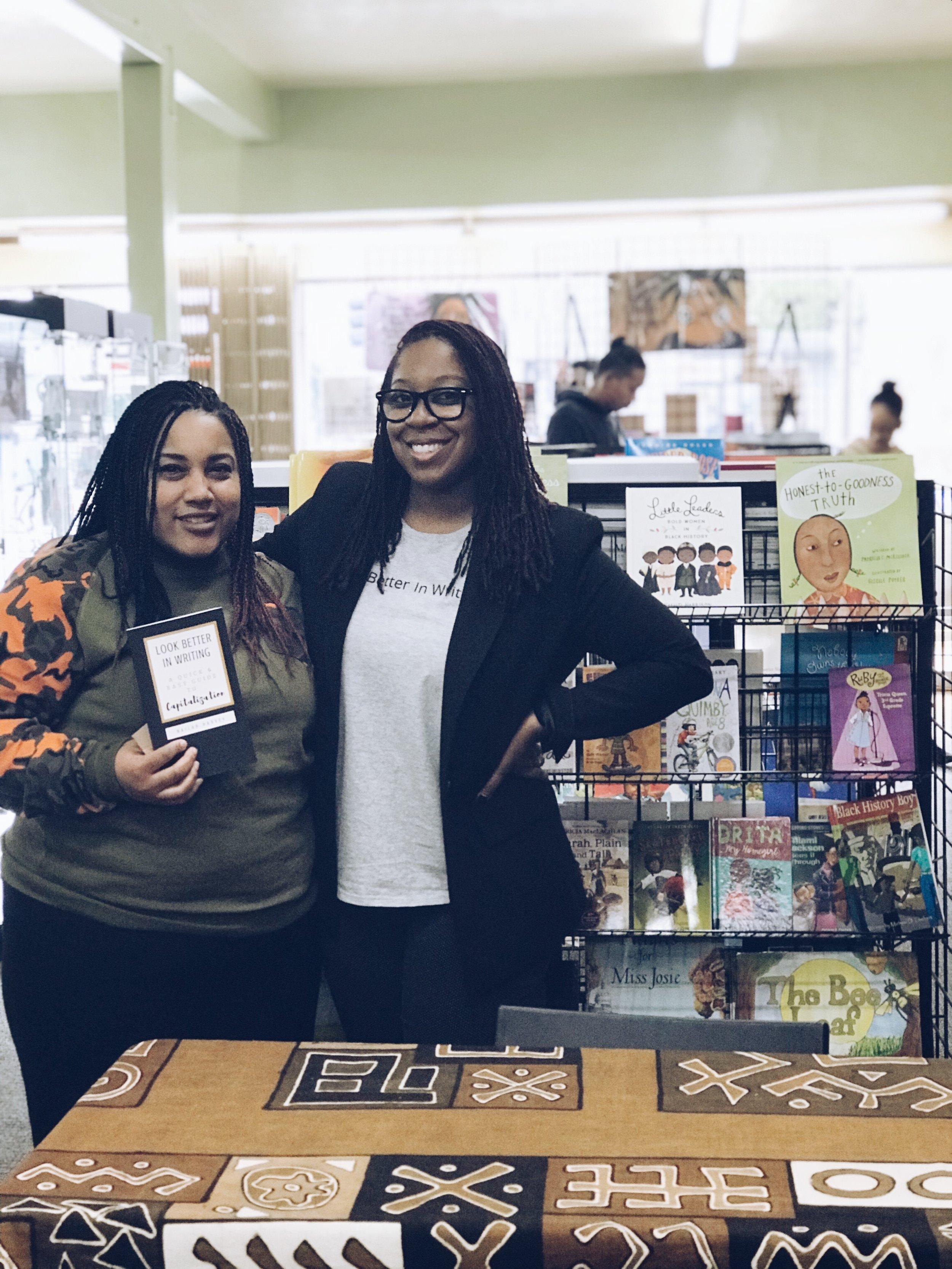 Nailah Harvey Book Signing with Tay.JPG