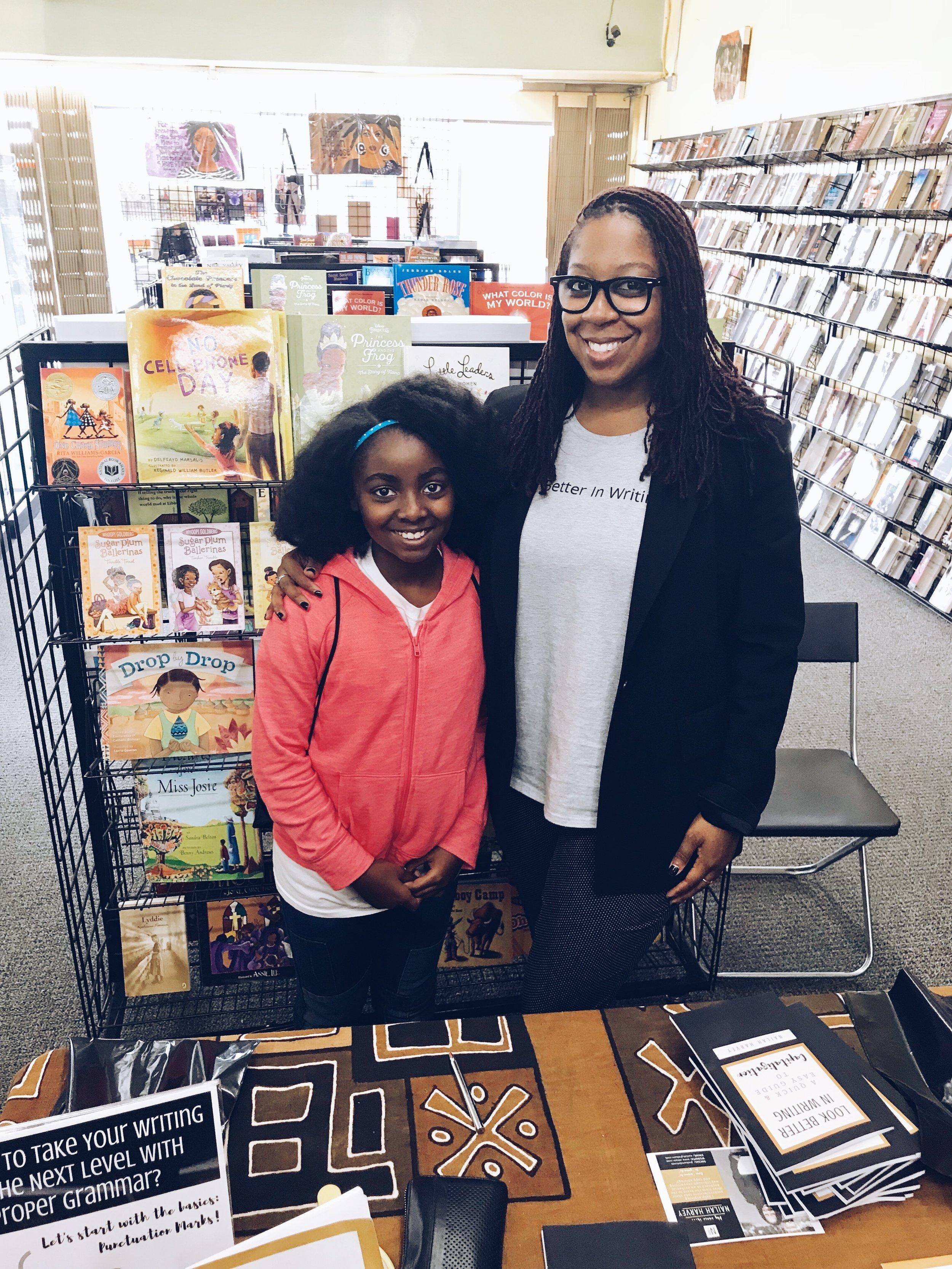 Nailah Harvey Book Signing with Yana.JPG