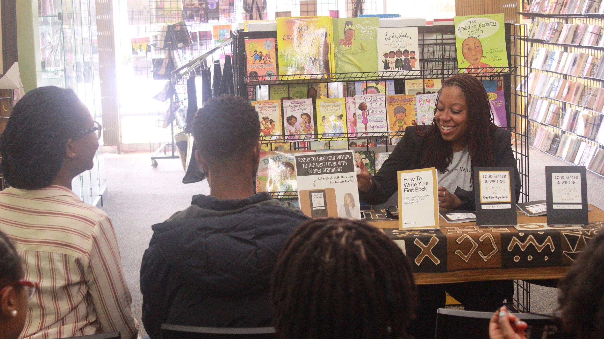 Nailah Harvey Book Signing 10.JPG
