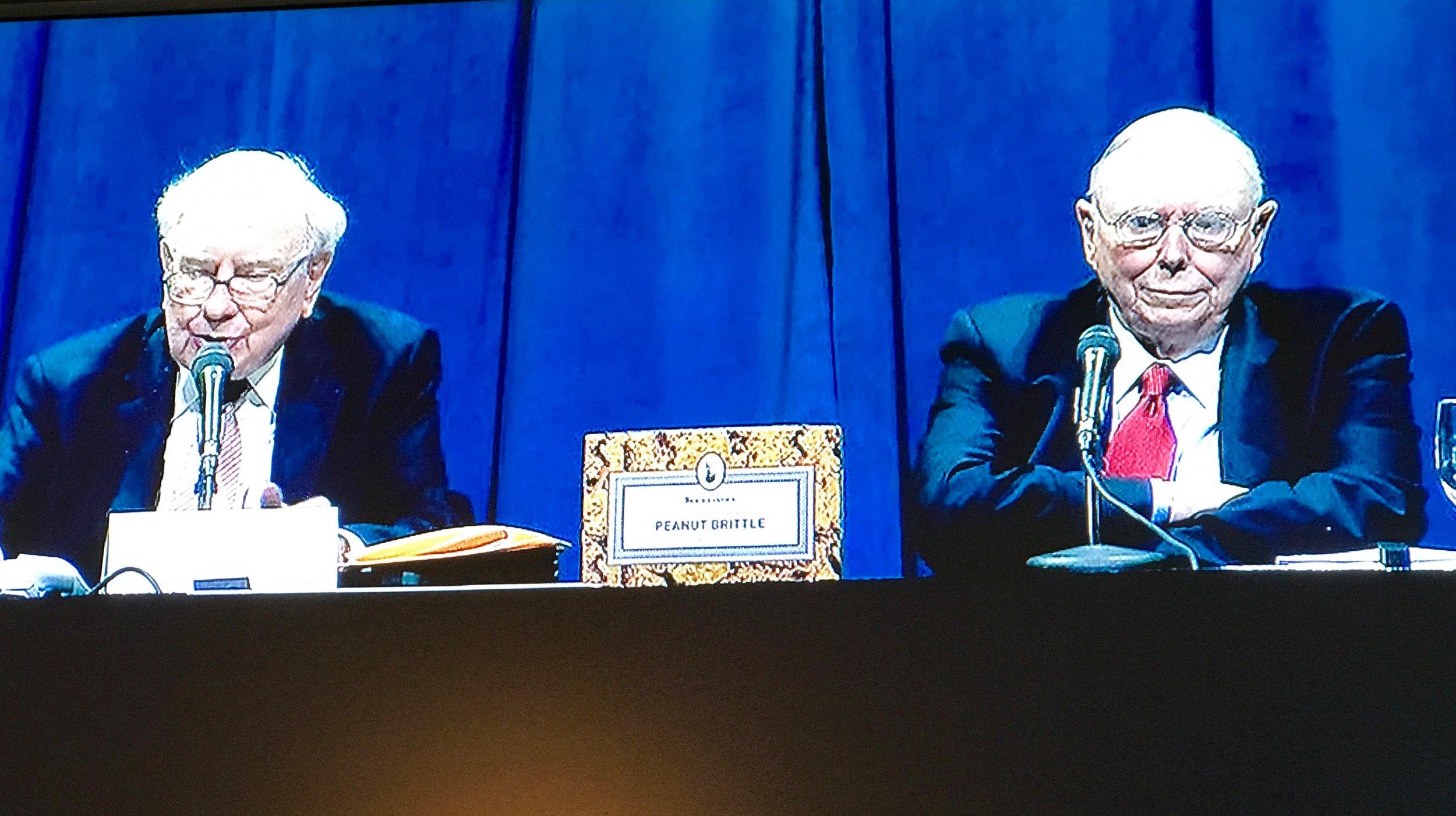 Berkshire Hathaway Annual Shareholders Meeting