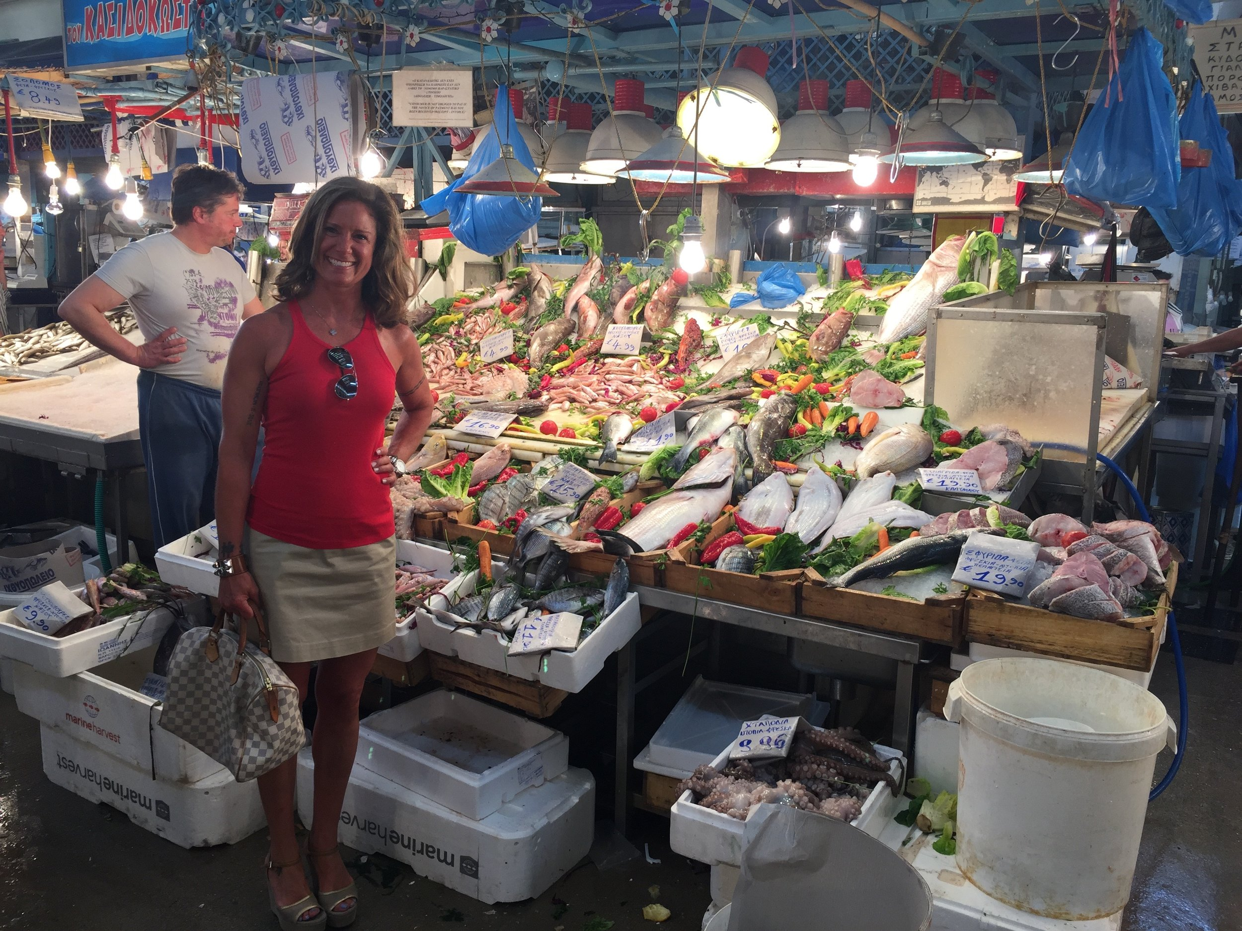 Athens Central Meat and Fish Market