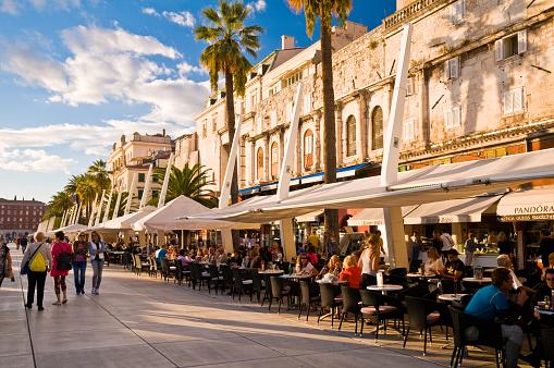 Waterfront Promenade - Split, Croatia
