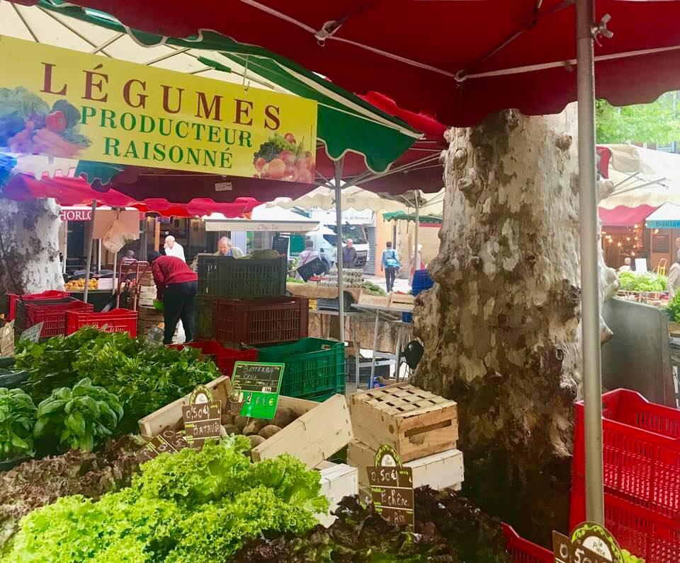 Aix en Provence Farmers Market