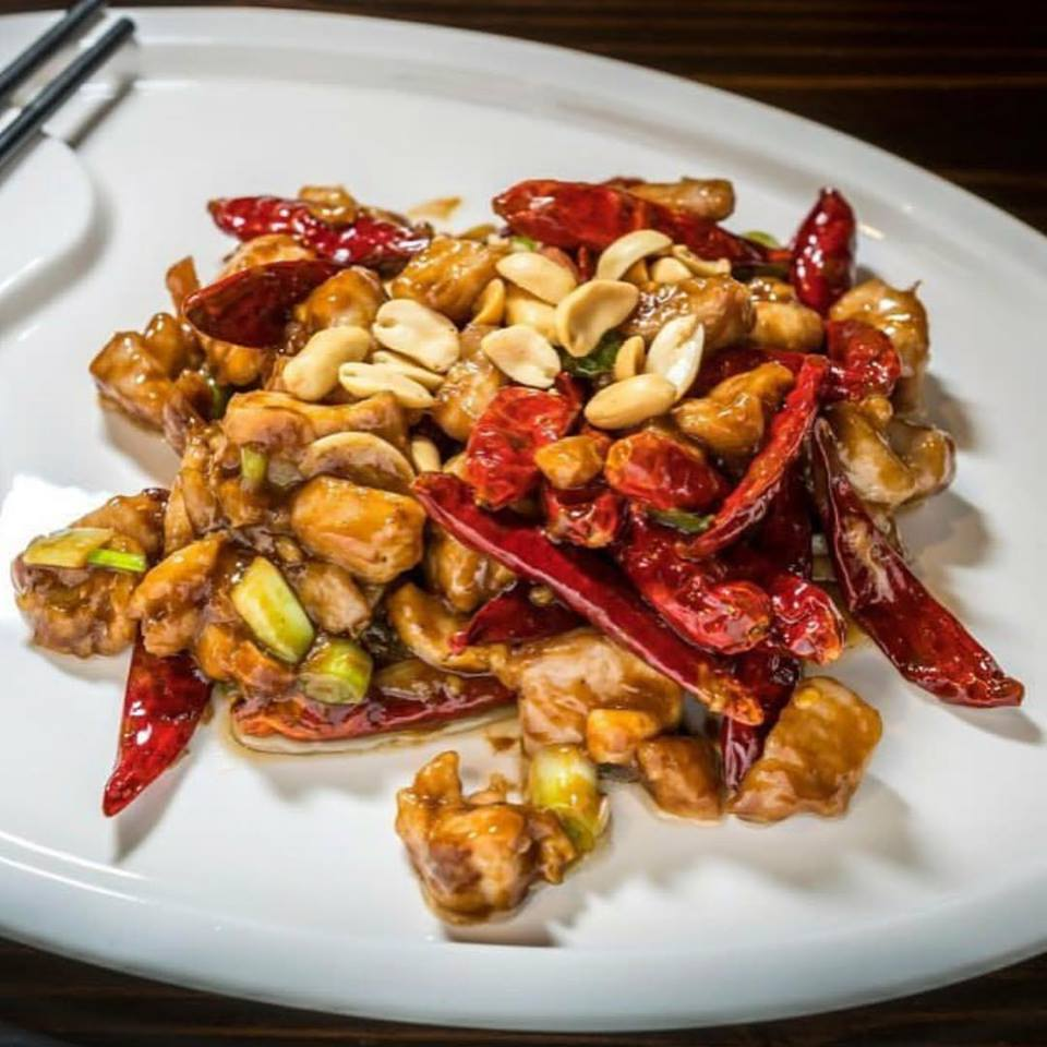 Kung Po Chicken with Hot Pepper Sauce