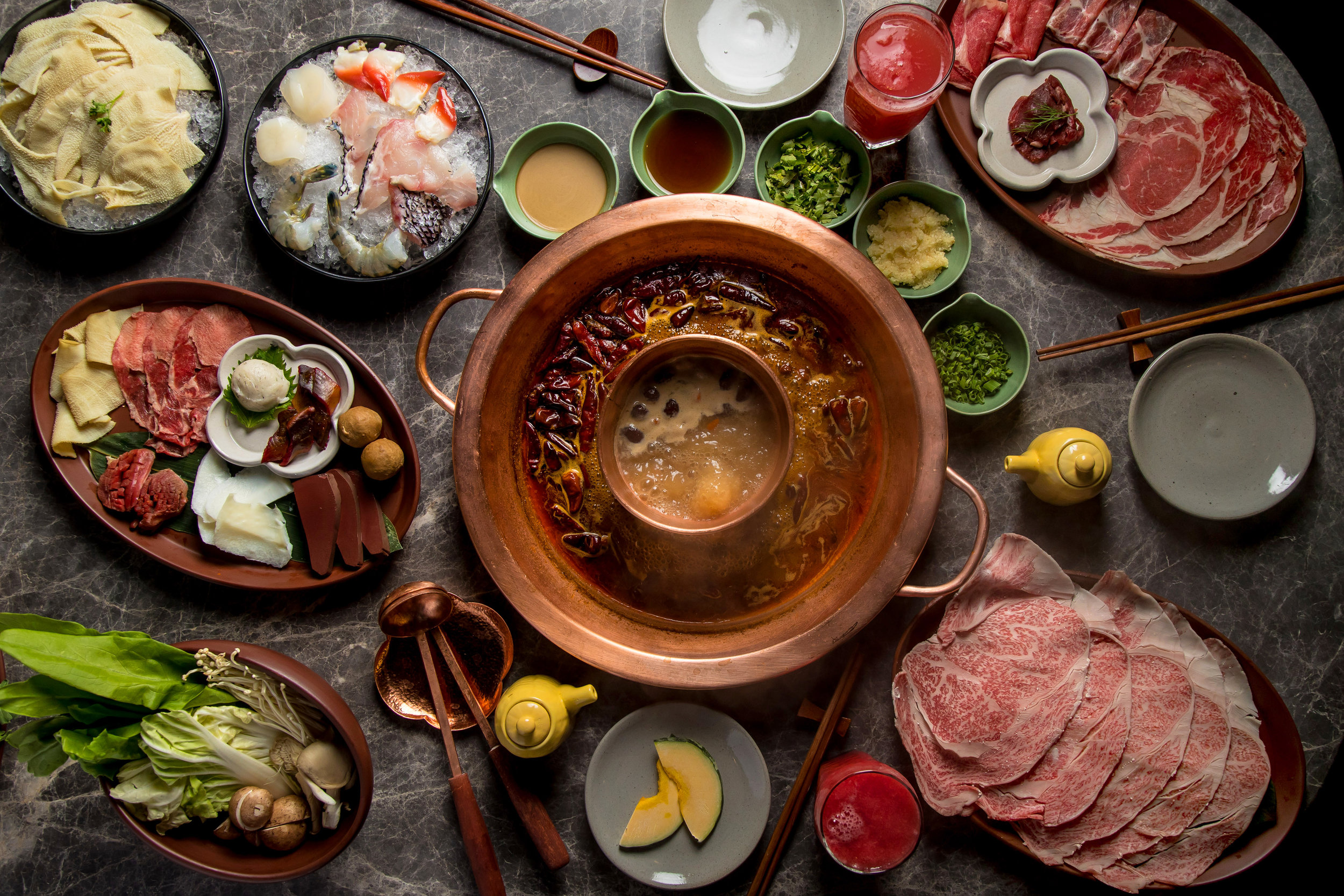 Authentic Sichuan hotpot at Tang Hotpot