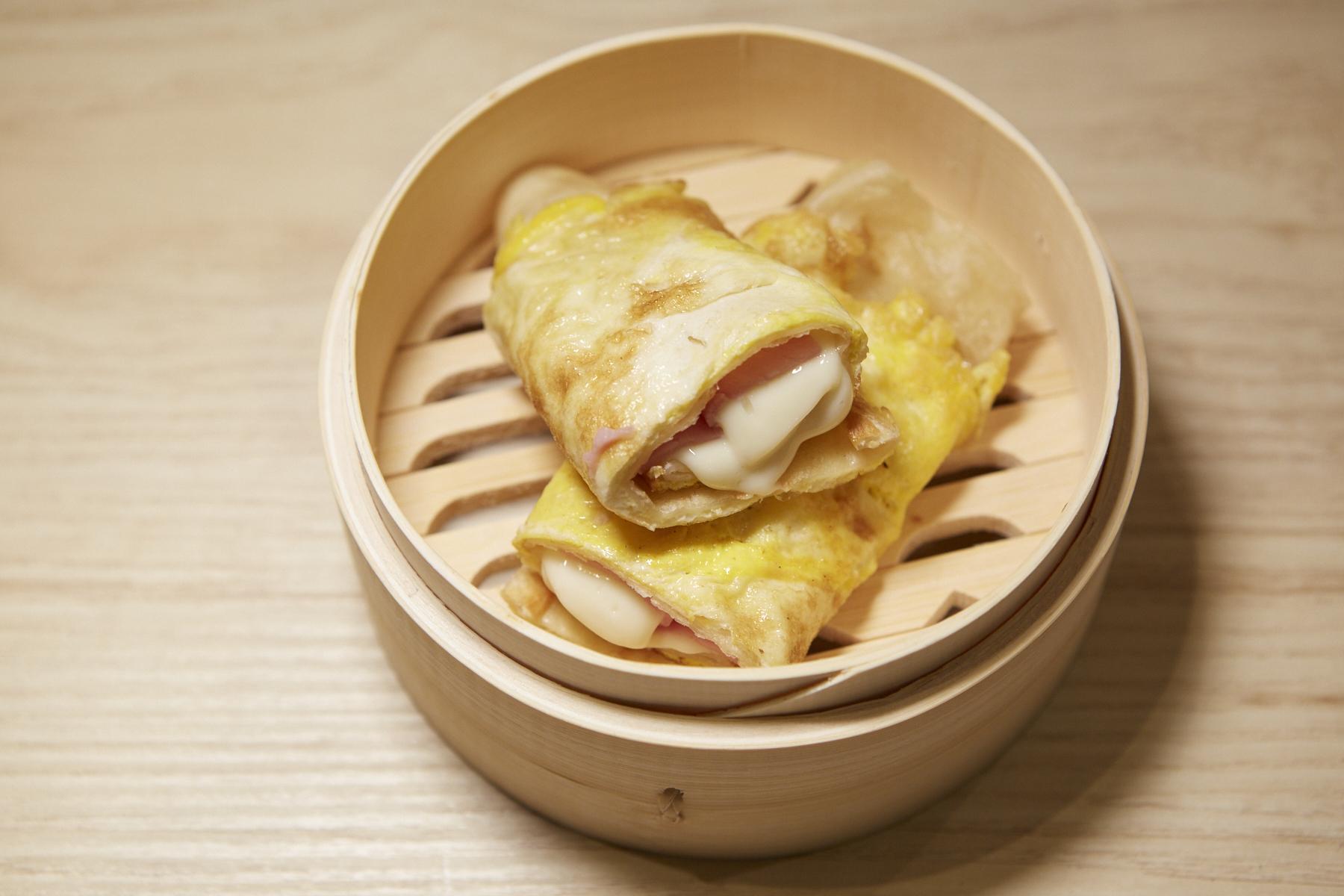 Ham, Egg, and Cheese Bing