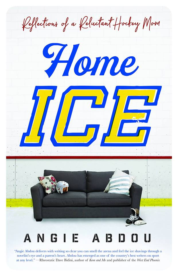 THURSDAY, SEPTEMBER 6th - Home Ice Cranbrook Launch | Fernie author Angie Abdou joins us to launch her newest book Home Ice: Reflections of a Reluctant Hockey Mom.
