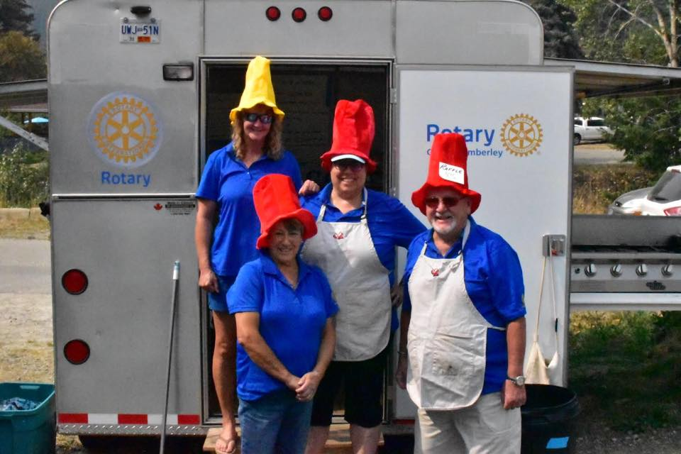 SATURDAY, OCTOBER 13th - Bones, Beer & Boogie 2018 | It's Party Time! Our annual Bones, Beer & Boogie is Kimberley Rotary's chance to celebrate our community. Join us for an evening that includes a tasty BBQ Pork Rib dinner, music, and fellowship! There will be a 50/50 draw, as well as our famous Heads & Tails Game, a cash bar (beer & wine) and lots of dancing courtesy Ray's Music! Our theme this year is HATS HATS HATS! Silly or Serious, Crazy or Creative - be sure to wear yours!Proceeds from this event are being donated to the Seniors Helping Seniors, to help them with their TRISHAW project (Cycling Without Age).* Hosted by Rotary Club of Kimberley BC