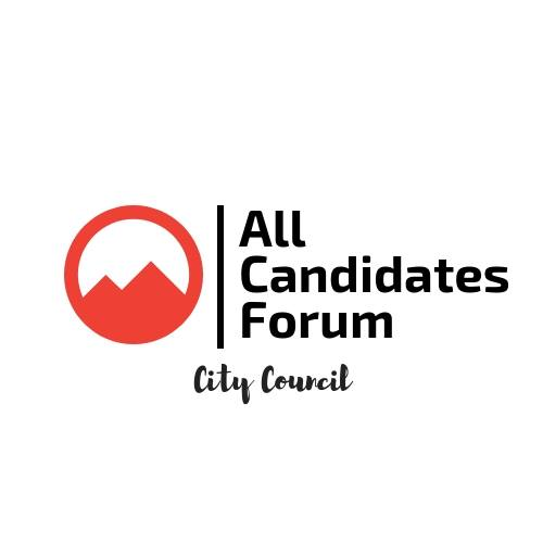 MONDAY, OCTOBER 15th - All Candidates Forum: City Council   All are welcome to attend the All Candidates Forum at McKim Middle School. The individuals who are running for city council will be there to discuss their platforms, goals and visions for our city as well as answer questions.* Hosted by Kimberley & District Chamber of Commerce