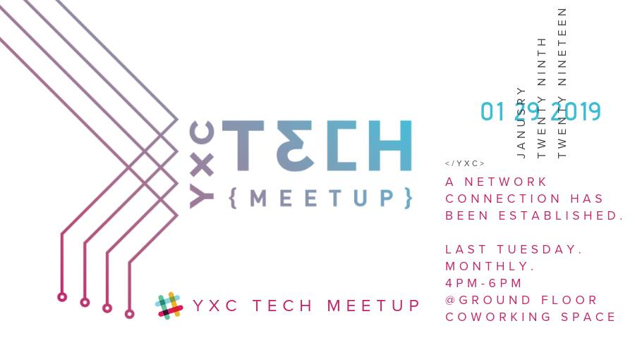 TUESDAY, January 29th - Cranbrook Tech Meetup | Ground Floor Coworking Space is looking to contribute to Technology & Innovation Development in Cranbrook and the East Kootenay Region by providing space and coordination of Tech Meetups at our venue. We hope to develop a connection of people with a strong understanding of technology, trends, and regional development opportunities.Tech Meetups are interactive social events focused on creating a culture of collaboration within the tech community. Second to building community, the meetups are designed reach the goals listed above. The development of the meetups will evolve as the events take place and will be considered a work in progress as we learn from the events.* Hosted by Ground Floor Coworking Space