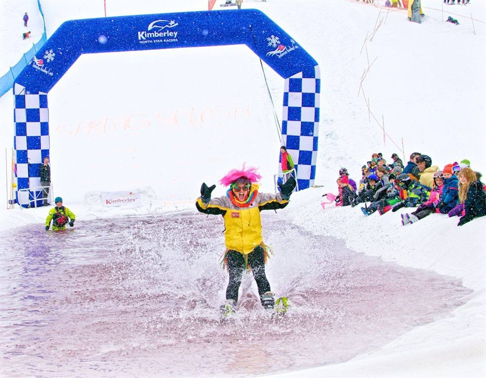 Saturday, April 6th + Sunday, April 7th - Spring Splash 2019!Saturday, April 6th – Pond Skim Challenge - 12pmThe wettest, wildest event in Kimberley! Saturday, April 6th is your chance to cool off at Kimberley Alpine Resort's annual Pond Skim Challenge! This event will be fun for all ages, so grab the skis, boards and lawn chairs and come enjoy your day off! Only the first 100 entries get to skim! Wear a FUN costume!Sunday, April 7th – Dummy Downhill - 12pmThe annual tradition will continue with the Dummy Downhill event on our closing day of the 2018-2019 season!* Hosted by Kimberley Alpine Resort