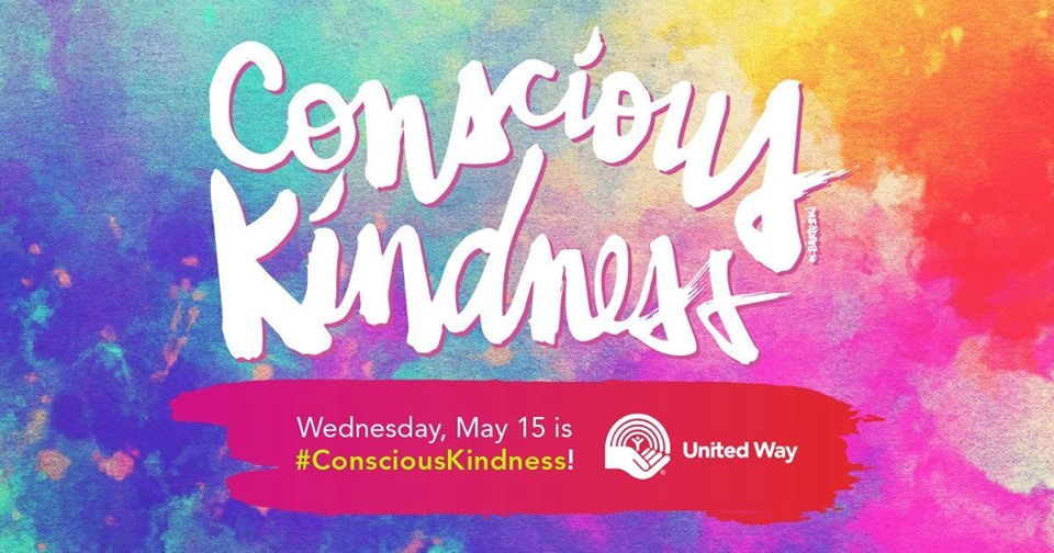 MONDAY, May 13th - Conscious Kindness Day | We will be showing Acts of Kindness and invite community to stop by our office at 930 Baker street to join in the fun.* Hosted by United Way East Kootenay