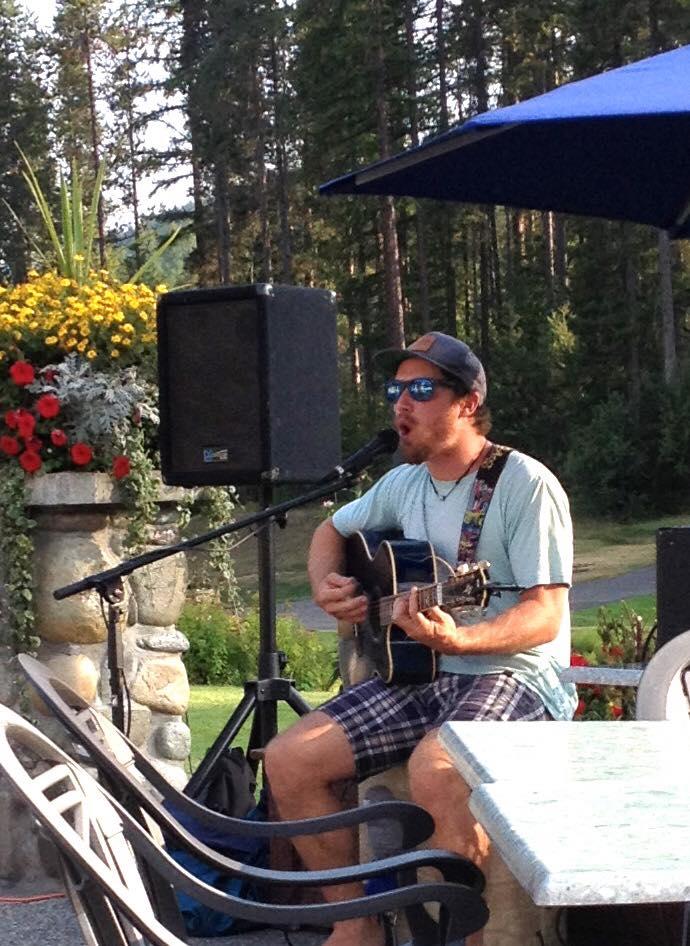 MONDAY, June 17th - Live Music on the Trickle Creek Patio with Oliver McQuaid | Sit back and enjoy an evening of free live music with Oliver McQuaid on one of the most beautiful patio's in Kimberley! Oliver will be playing your favorite tunes on Monday, June 17th at 6:00pm on the Trickle Creek Patio.Golf for only $65 after 2pm every Monday throughout the 2019 Golf Season! Includes golf, cart, practice range and a $10 food voucher at the Club House Restaurant!* Hosted by Trickle Creek Golf Resort