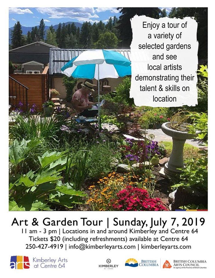 """Sunday, July 7th - Art and Garden Tour 