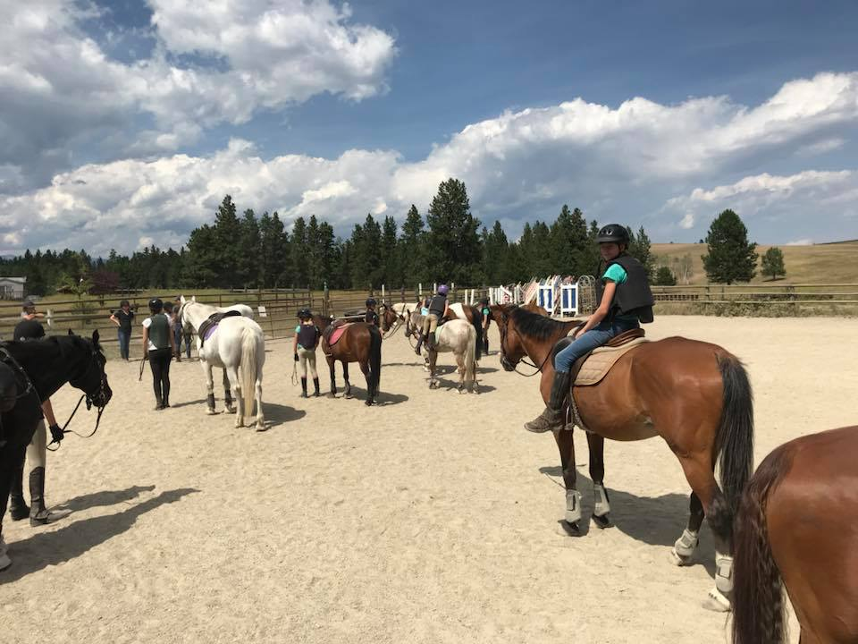MONDAY, July 22nd - Saddle UP Summer Camp | Ages 6 to 16. Kids with or without horse experience are welcome.Daily Riding Lessons – English or Western – An Excellent start to good horsemanship, #team work, Camp Fires, Hiking, Exploring the property, Games, Tack Education, Wrapping, leg care, Cleaning Tack, braiding. Learning all about correct tack and how it all works. General horse care and so much more.* Hosted by Windover Equestrian