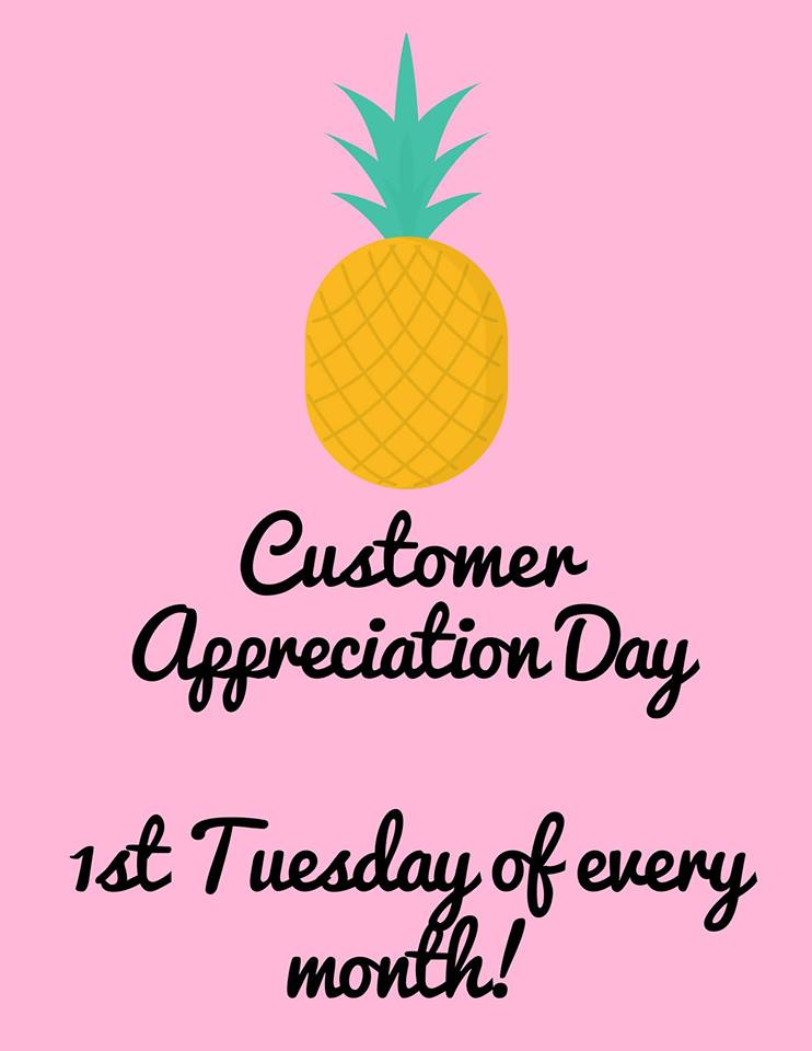 TUESDAY, AUGUST 6th - Customer Appreciation Day: August | 10 - 30% off the entire store!* Hosted by Sprout Health Market