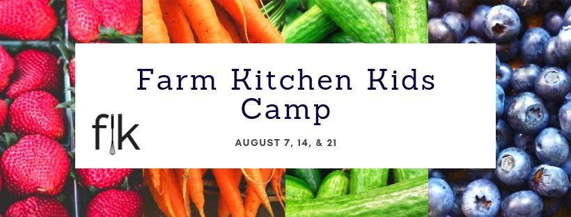 WEDNESDAY, AUGUST 7th - Farm Kitchen Kids Camp | A fun Summer camp for kids 8-12. Kids can learn kitchen skills, participate in food-related science experiments, and explore the importance of nutrition.Cost $49/day or $130 for all 3 days:August 7 - Cheesy PeasyAugust 14 - Loco Local LuncheonAugust 21 - Snack to SchoolVisit farmkitchenconnect.ca for more details and to register.* Hosted by Farm Kitchen