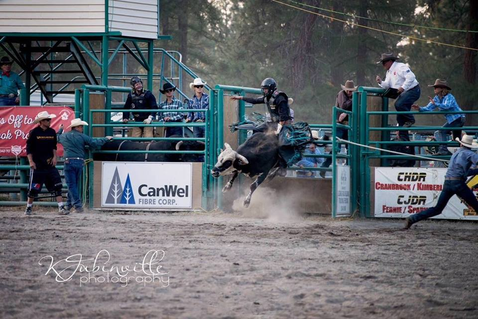 Friday, August 16th to Sunday August 18th - Cranbrook Pro Rodeo | 2019 marks the 33rd annual Cranbrook Pro Rodeo. The August event continues to be a popular stop on the Canadian Professional Rodeo Association roster. 2019 promises to be as exciting as ever with three action-packed performances featuring top cowboys and cowgirls from all over North America.Events include: saddle bronc riding, bareback riding, steer wrestling, tie-down roping, team roping, ladies barrel racing and bull riding. Each day will feature a performance by trick rider Shelby Cummings. • Students & Seniors: $18 in advance; $23 at the gate• Adults 16 & up: $20 in advance; $25 at the gate• Children 10 & under are freeAdvance tickets can be purchased at Top Crop and Hillbilly Hardware. ****CASH ONLY**** at the gate! Saturday will feature a dance following the rodeo performance. Come out and enjoy live music! Entry into the dance is $10 or $5 with a Saturday rodeo ticket. ****CASH ONLY!***** Hosted by Cranbrook Pro Rodeo