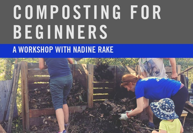 WEDNESDAY, August 21st - Composting for Beginners   Did you know that in the East Kootenays 30% of what we throw away is compostable organic material? Did you also know that this organic material can be turned into a very valuable resource, while reducing our impact on the local and global environment? Lucky for us, composting is an easy and FUN activity that anyone can start at home.In this workshop Nadine Rake, the Zero Journey blogger will be covering the basics: how to set up a bin, ways to properly work and maintain the pile while not attracting wildlife, and how to use your compost soil. There will be an opportunity to pick up some troubleshooting tips, answer questions, dig into some composted soil, AND go home with a compost booster of local worms.Registration is $15 per person or sign up in a group and receive $5 off each additional person!* Hosted by Kimberley Community Garden and Wildsight