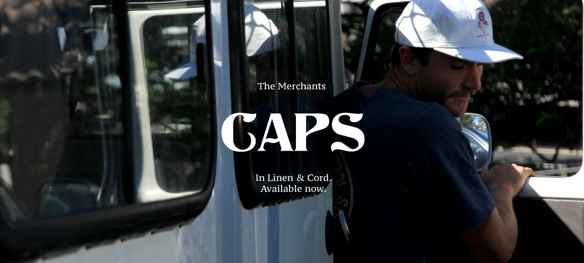 Salty Merchants Caps