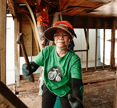 You get to work side by side with Khru Prateep, learning and sharing how she has inspired and led for 40 years.