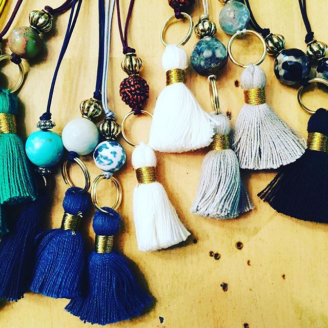 Mala Making Kits...The start of a new endeavor.  #malabeads #malamaking #gemstones #inspirationaljewelry #chant #mantra #color #hechoenmexico #tulum #laboroflove #razamestiza