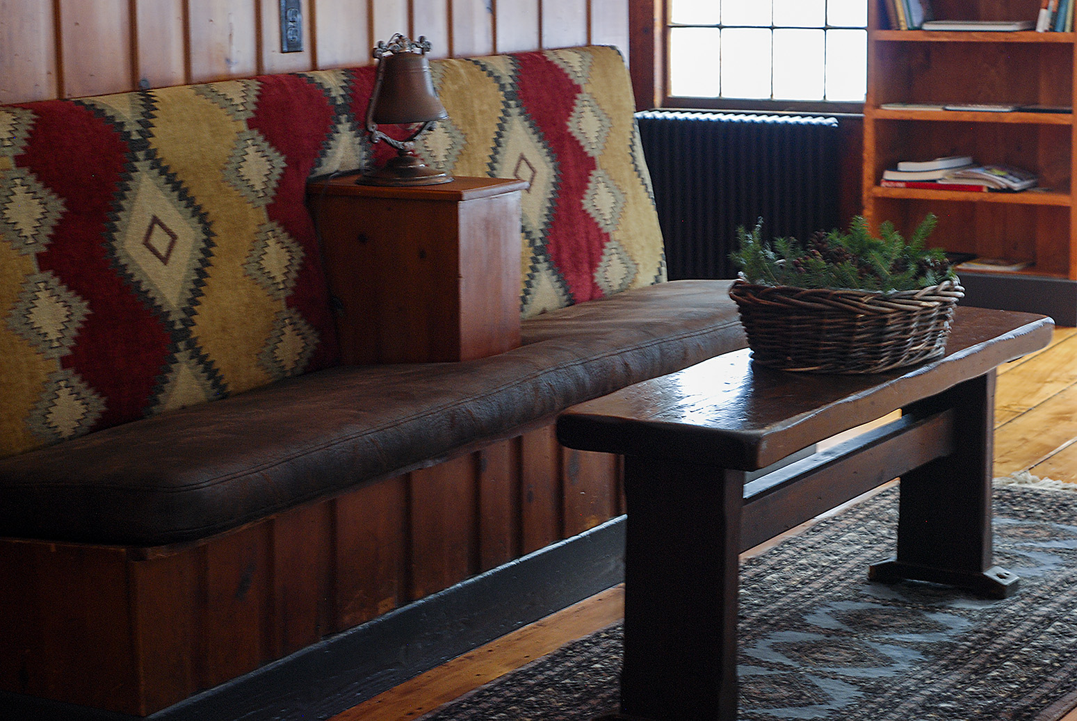 Custom Bench Upholstery - The Horse and Hound Inn