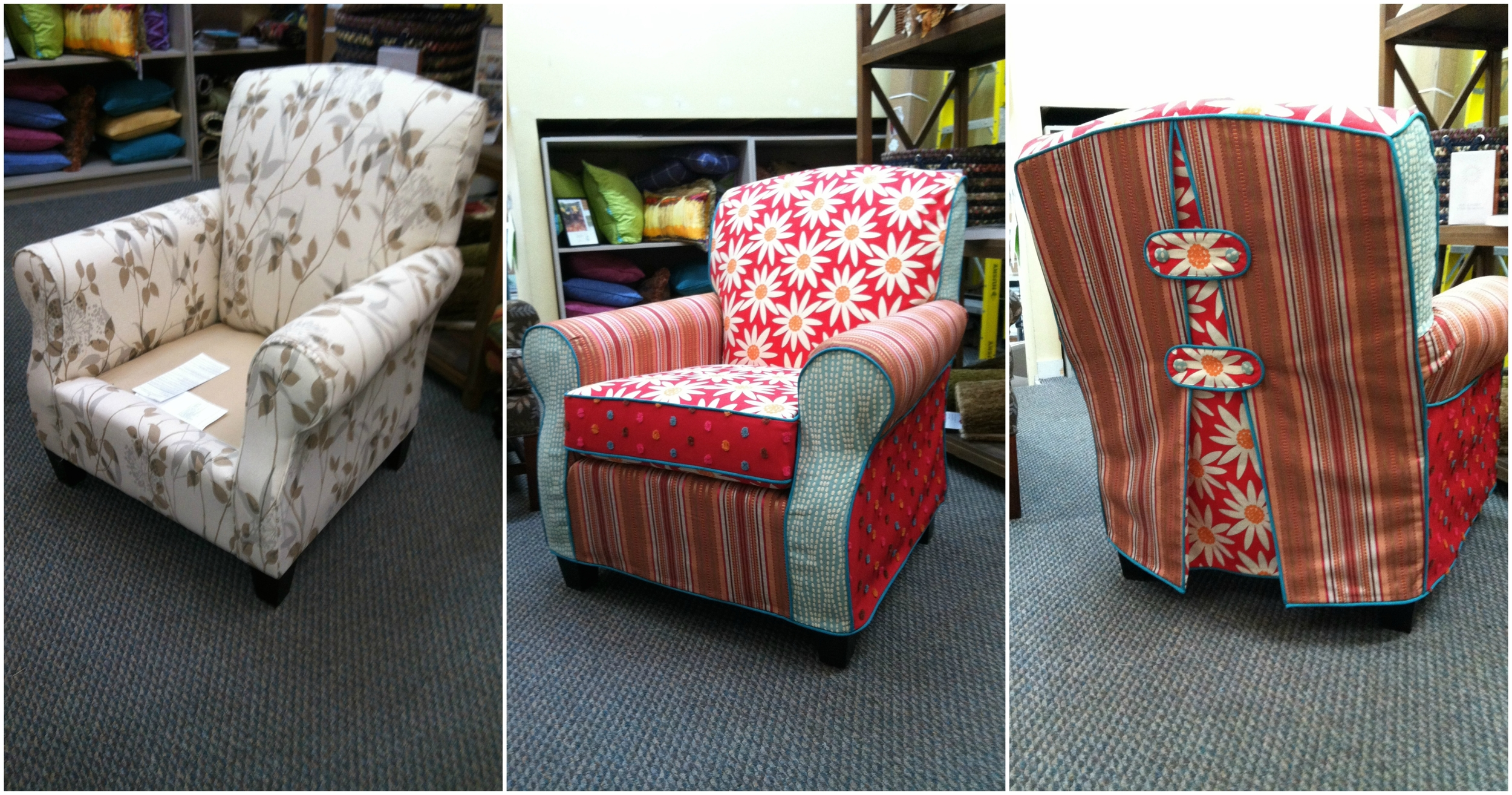 Slipcover Before and After