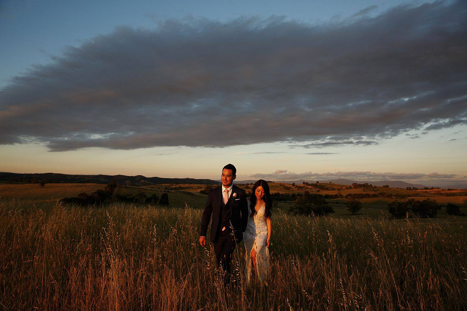 relaxed style wedding photographer in the yarra valley