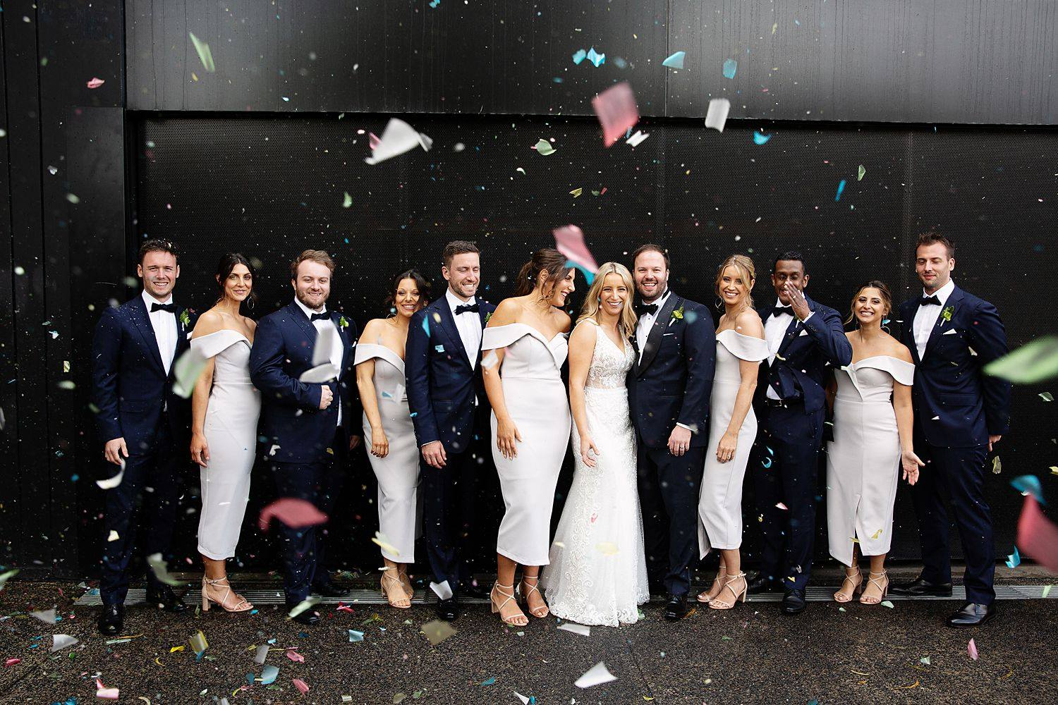 fun glasshous inside wedding photography in cremorne confetti