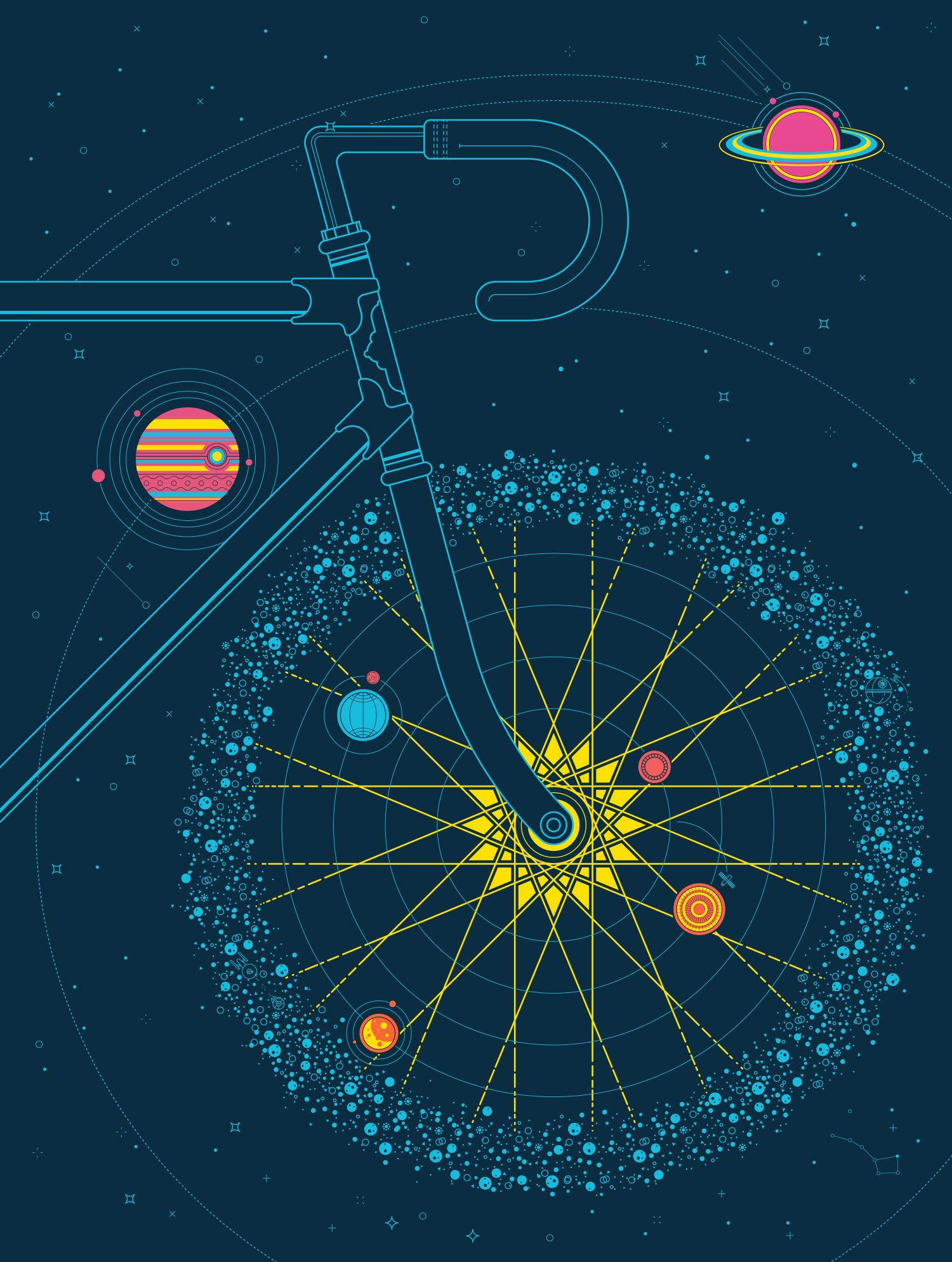 Artcrank Sol cycle Poster