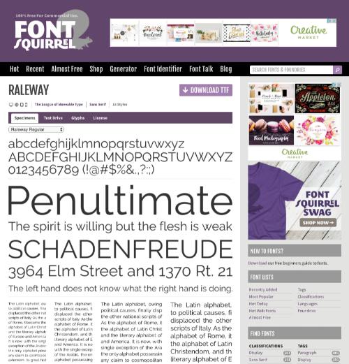 Fontsquirrel.com