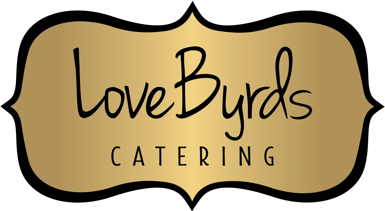 LoveByrds Catering | Logo Design | BelaMarca Studio