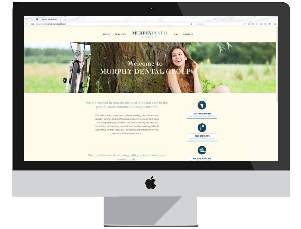 Murphy Dental Group | Website Design | BelaMarca Studio