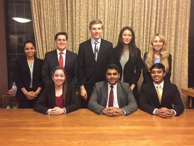 On December 5-6th RUMTA B-Team competed at the 20th annual Yale Invitational Tournament at Yale University.  There were 42 teams at the Tournament and the B-Tam matched-up against several competitive teams.