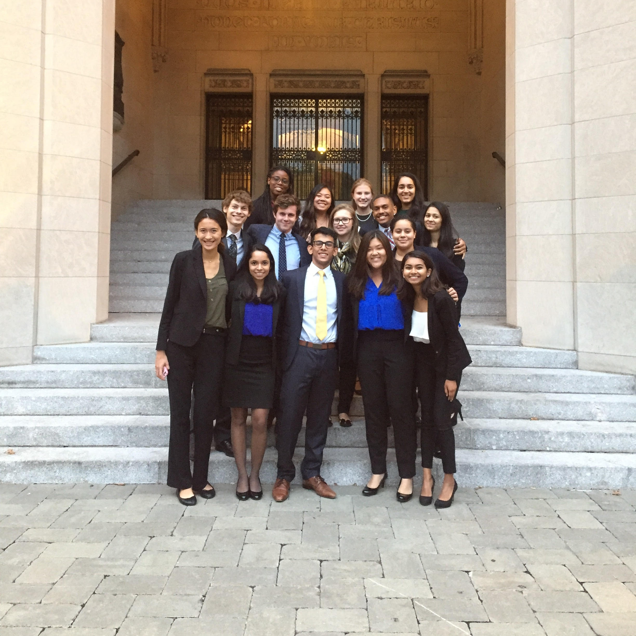 RUMTA's B and C Teams at Fordham                                   Top row, from left to right: Ajoke Adetula, Christine Tran, Samantha Berg, Aabha Joshi           Middle row: Michael Luckhowec, Emmett Laurie, Michelle Fishman, Ryan Ruffin, Veronica Bido, Shivangi Patel                                   Bottom row: Katie Dale, Anu Chugh, Karan Malhotra, Lucy Huang, Hasin Tasneem
