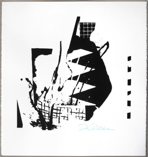 "Morpheus. 2015 Screen print, 24"" x 22"""