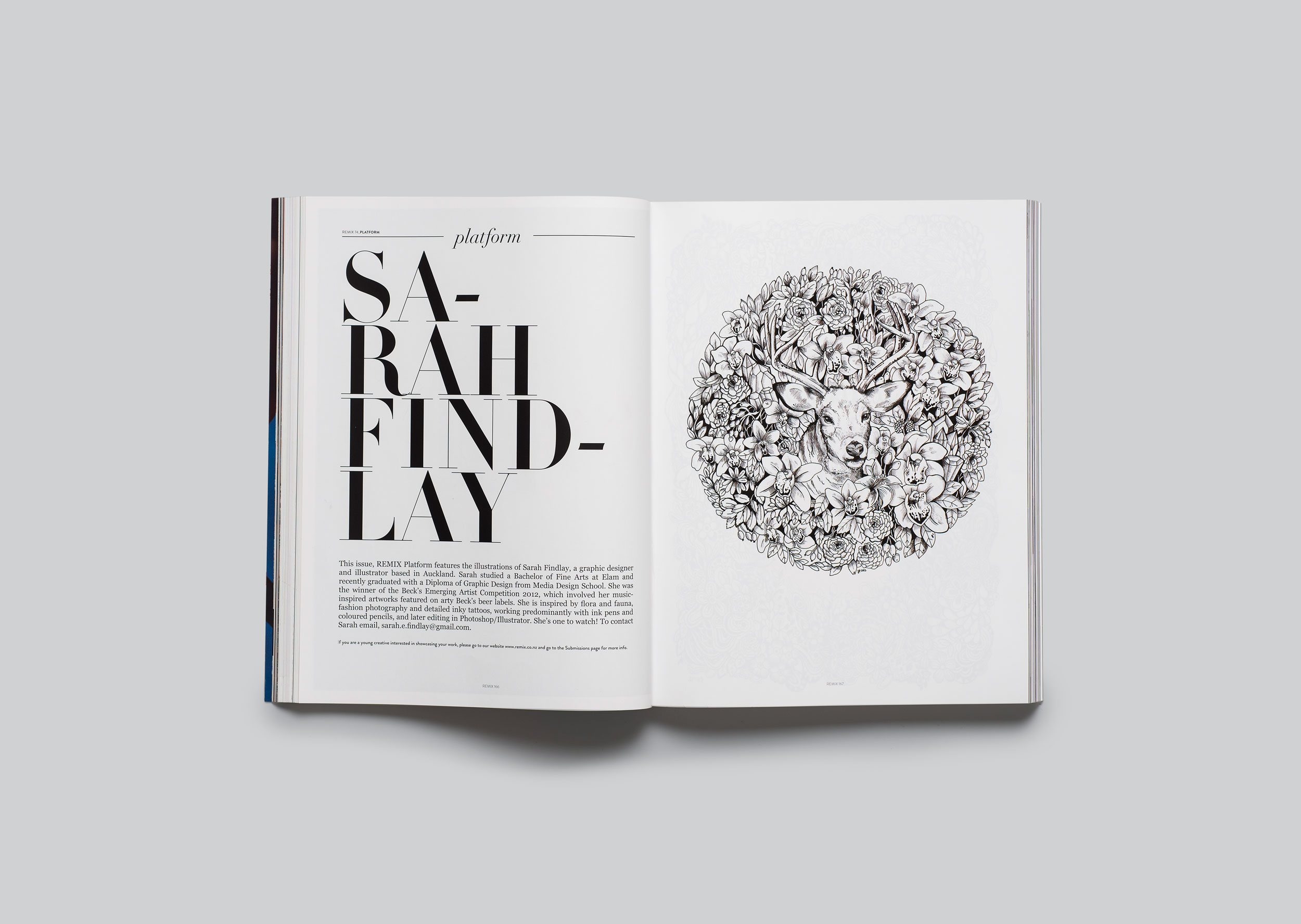 Remix magazine feature