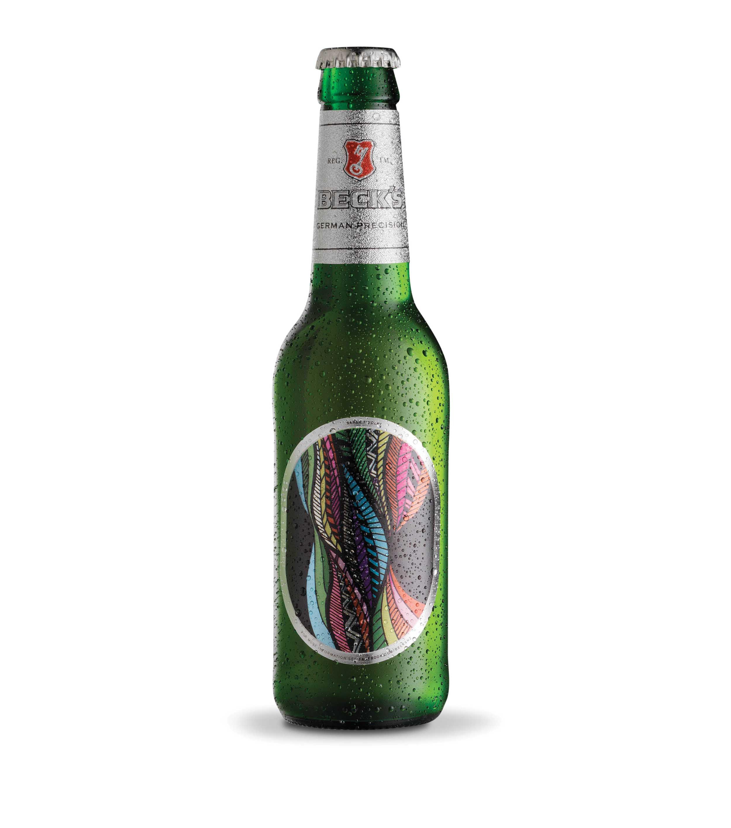 Sarah Findlay Beck's beer label