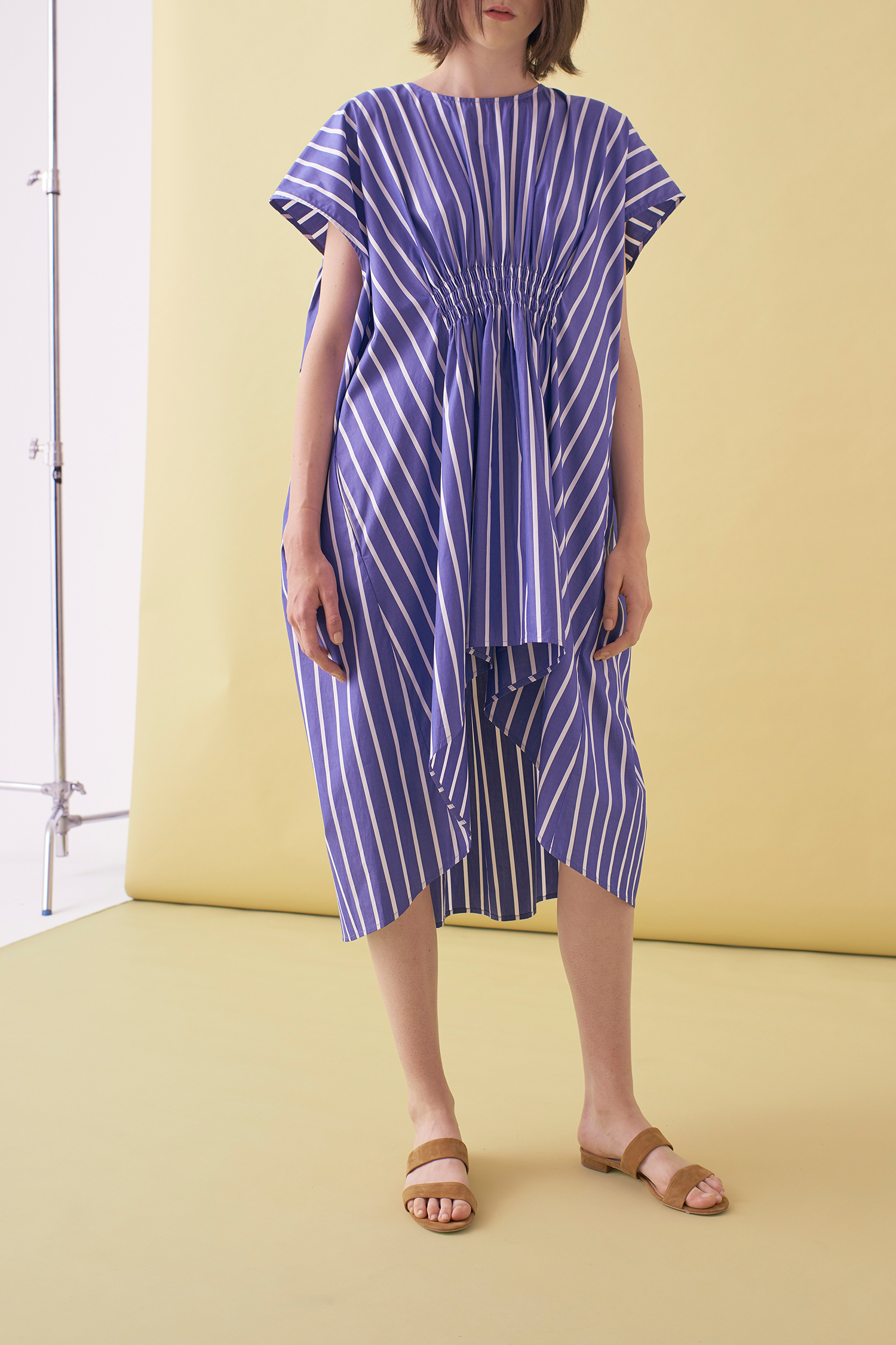 Sarah_Swann_SS17_01_Striped_Shirring_Dress_CeruleanBlue_F.jpg