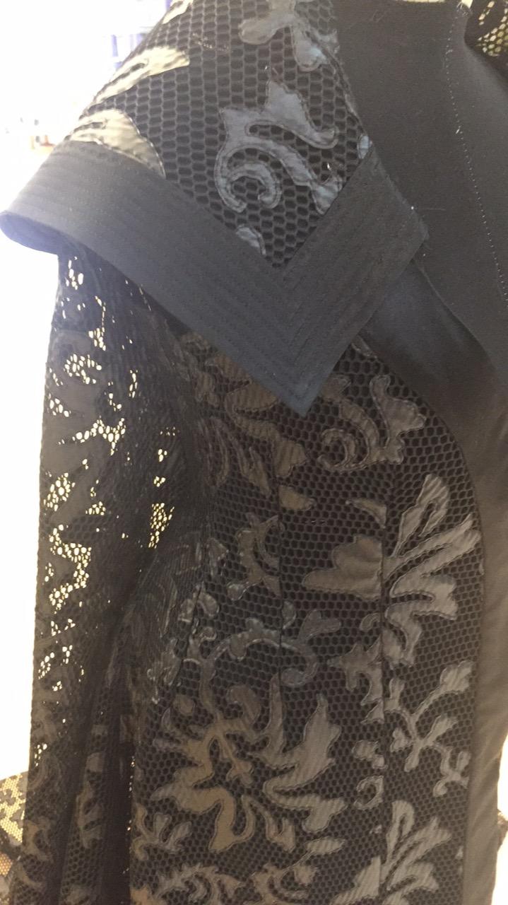 Collar quilt stitching
