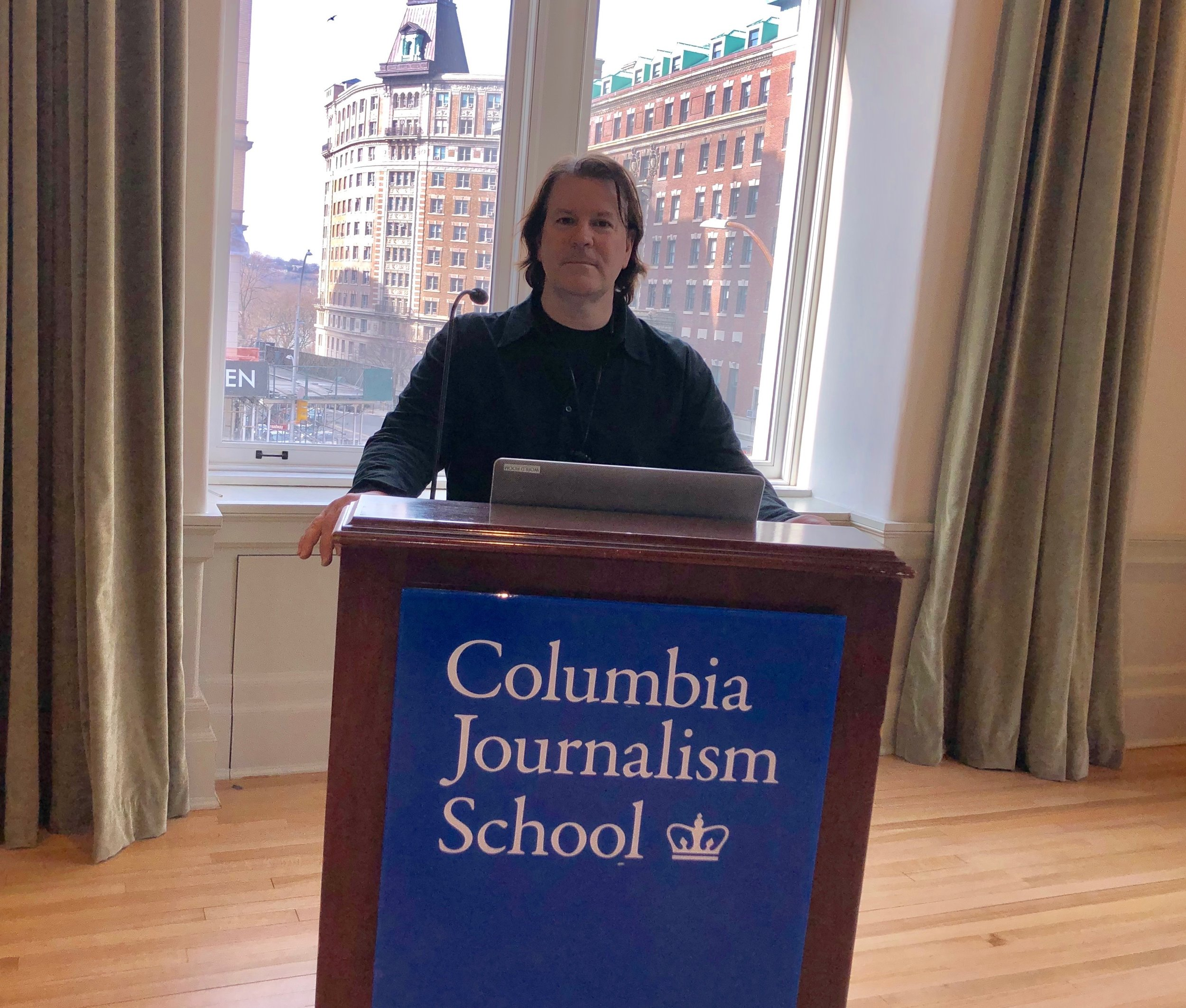 John Ferriter Speaks at Columbia School of Journalism - John Ferriter was proud to speak at The Columbia Journalism School in New York City on March 14, 2019. Students engaged with John Ferriter about the changing world of journalism and how to stand out in such a competitive field.