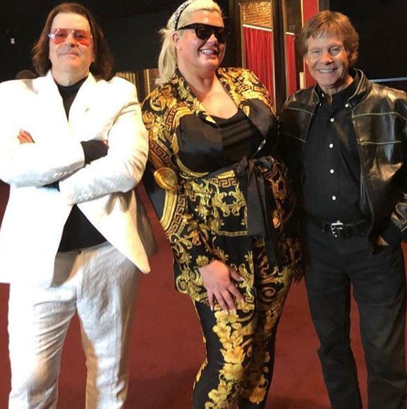 """Gemma Collins appears  with Ron Dante and The Tearaways - The Tearaways had some special guests drop by on the video shoot for """"Sweet Sounds of Summer."""" The UK Star will be featured, along with legendary music artist Ron Dante, on the upcoming The Tearaways music video. Read more…"""