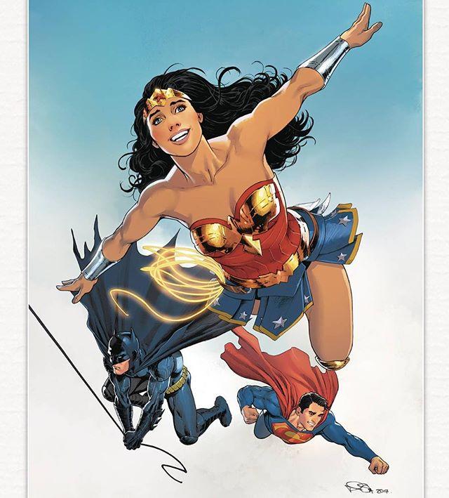 Wonder Woman annual #1 cover by Nicola Scott. #batman #wonderwoman #superman #trinity #justiceleague