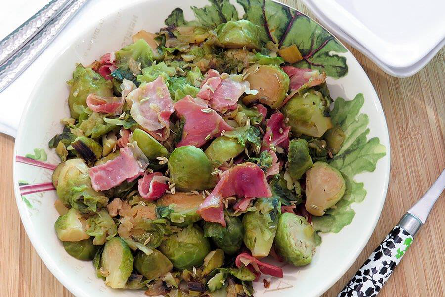 Brussels Sprouts with Melted Leeks and Prosciutto Ideal Protein Phase 1 friendly This recipe makes 6 servings. You can halve it if you don't need quite so much, or save the leftovers up to 3 days in the refrigerator tightly covered