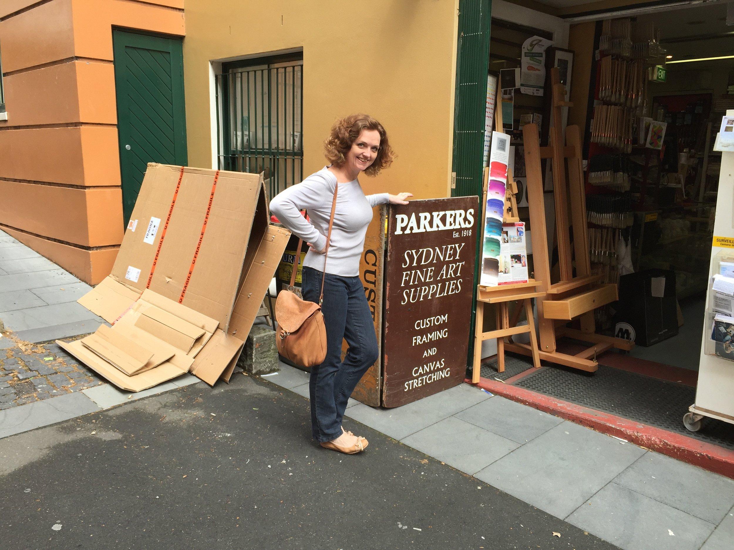 My favourite Art Supplies shop in Sydney.